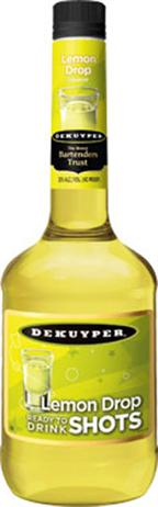 Dekuyper Lemon Drop Shots